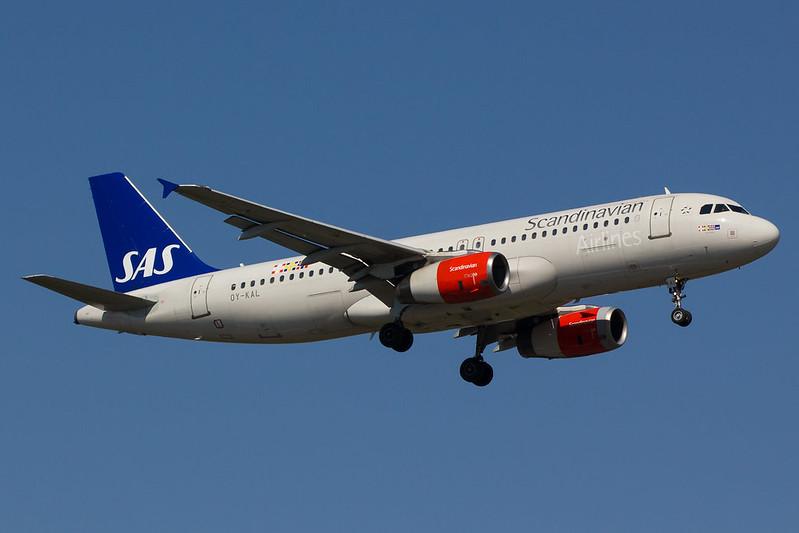 SAS - A320 - OY-KAL (1)