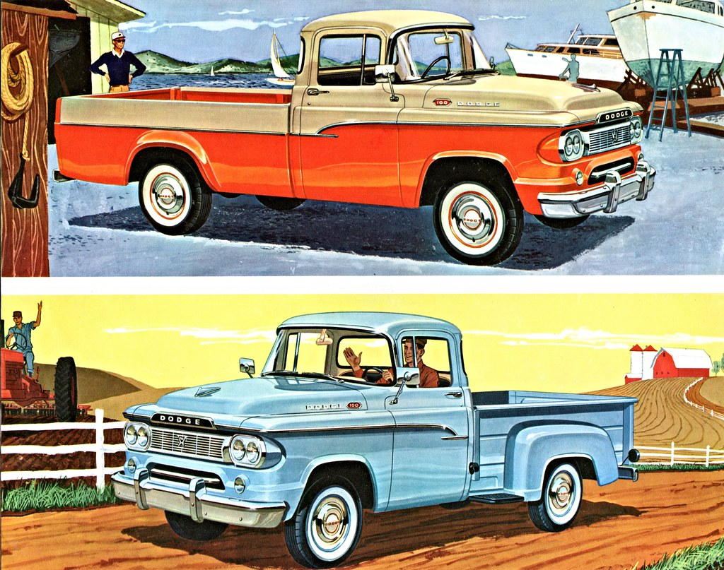 Custom Built Dodge Sweptline Wiring Diagrams Tire Rotation Diagram Http Forumih8mudcom 80 Series Tech 134192 Other Pickups 100 1960 Pickup Truck Cars 70 D100