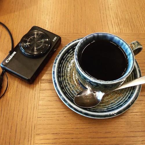 ツアーの最終地点で、コーヒーをいただいて、今回終了。 #3331artschiyoda #千代田区ディスカバリーミュージアム秋ツアー