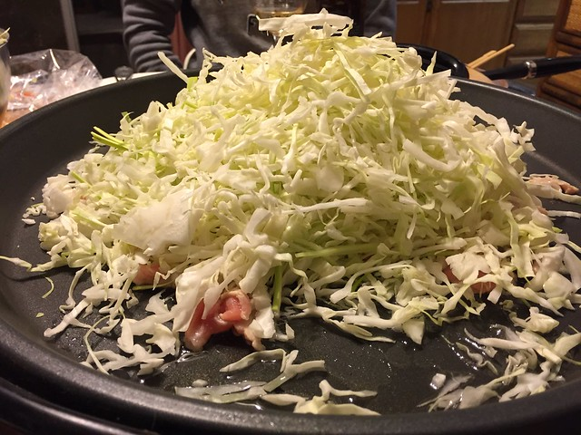 Cabbage for Yakisoba