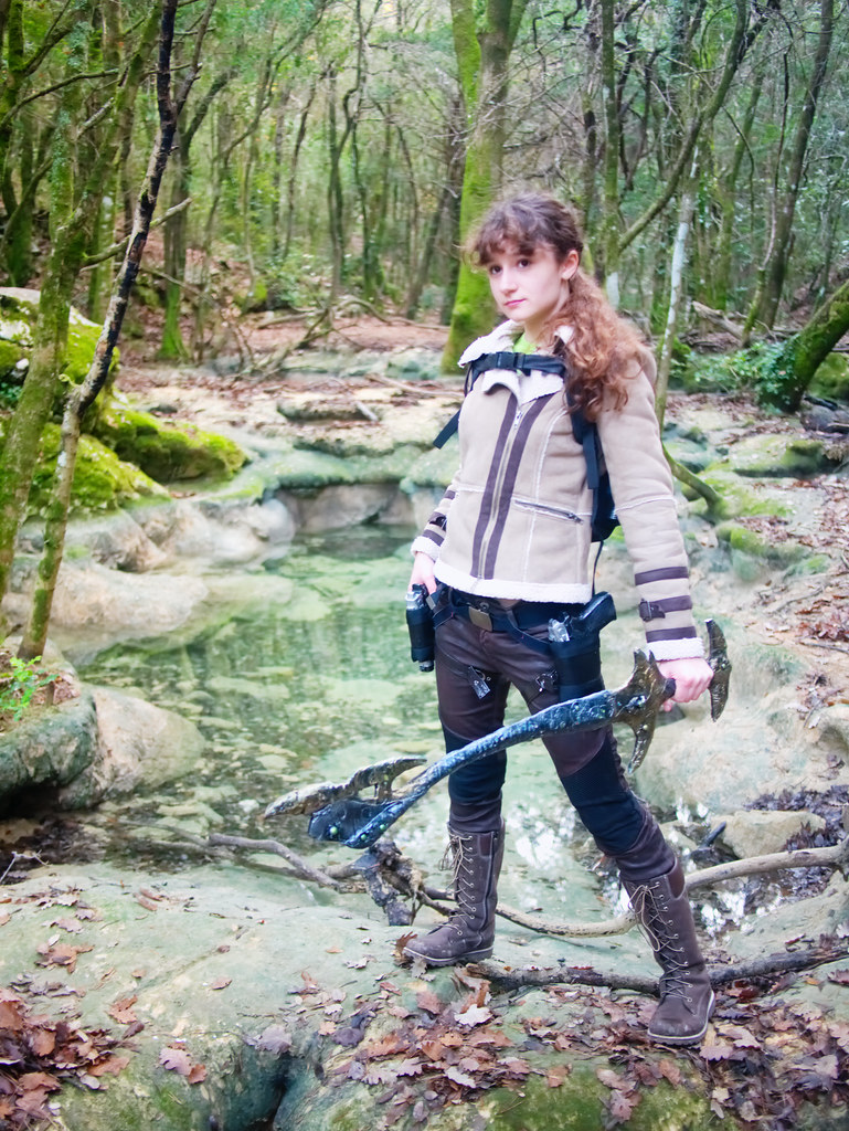 related image - Shooting Lara Croft - Sources de l'Huveaune - 2015-11-11- P1650877