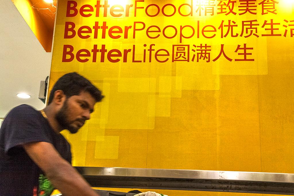 Better Food Better People Better Life--Singapore