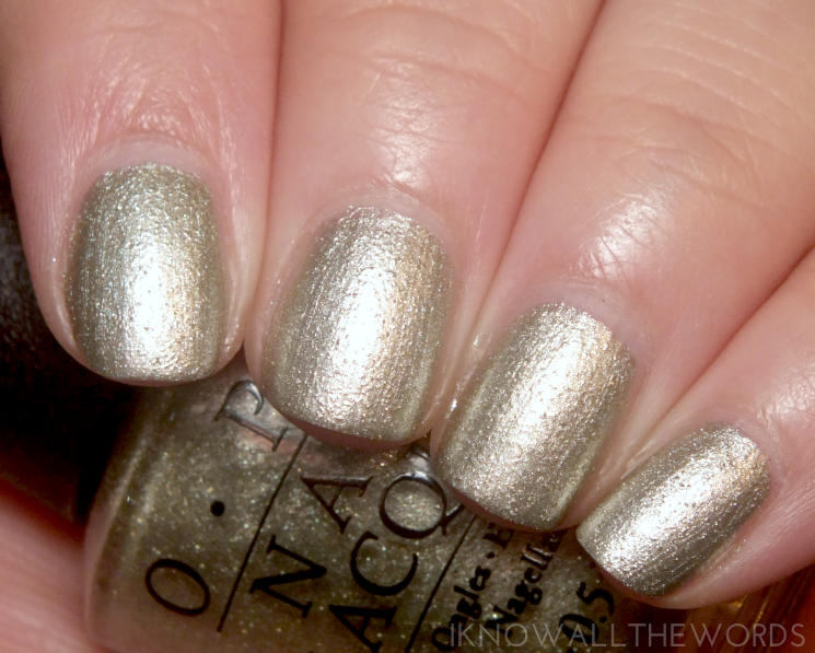 OPI Starlight Collection Comet Closer