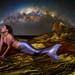 Mermaid under Milky Way by mickyg9