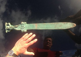 Oak Island 'Roman' sword