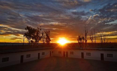 Zacatecas Sunset, Highway Truck Stop