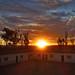Zacatecas Sunset, Highway Truck Stop por thedays.ofhighadventure