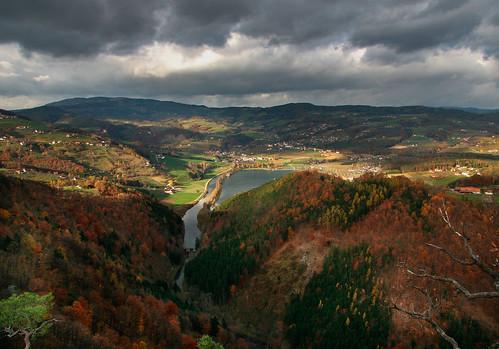 landscape landschaft canoneos300d goldenhour steiermark styria goldenestunde