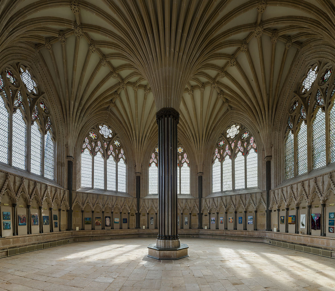Wells Cathedral - The Chapter House. Credit: David Iliff
