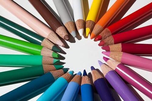 色鉛筆 by pixabay
