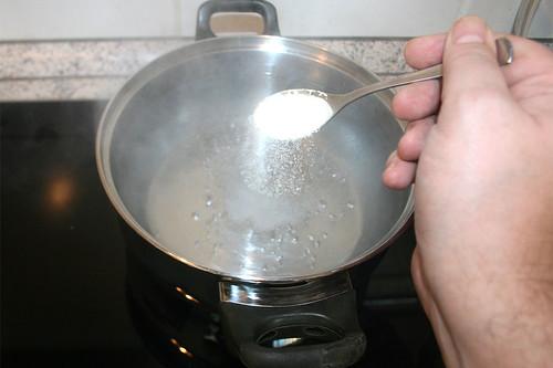 13 - Wasser salzen / Salt water
