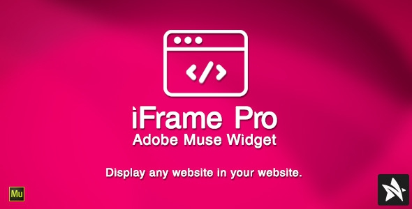 CodeCanyon iFrame Pro Widget for Adobe Muse