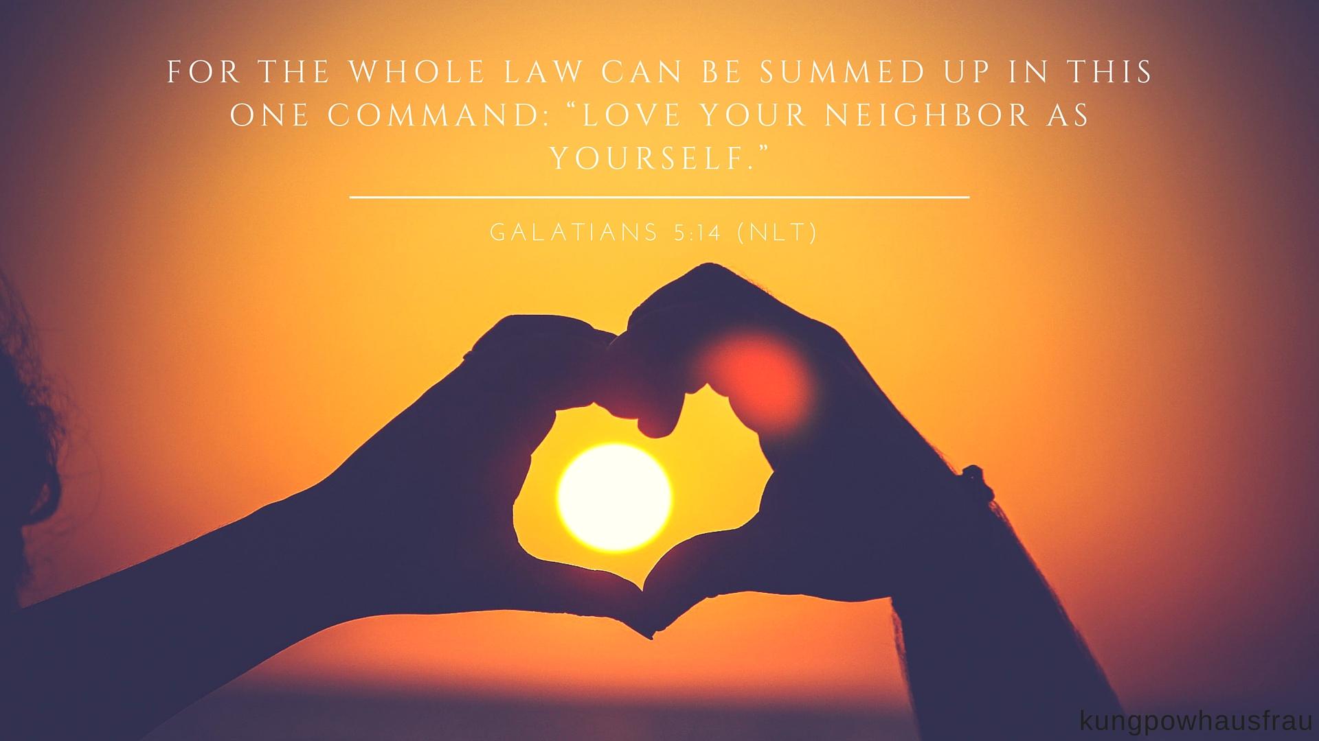 Galatians 5:14 Love