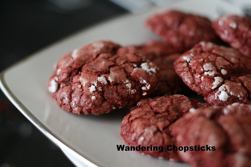 Red Velvet Crackle Cookies 2