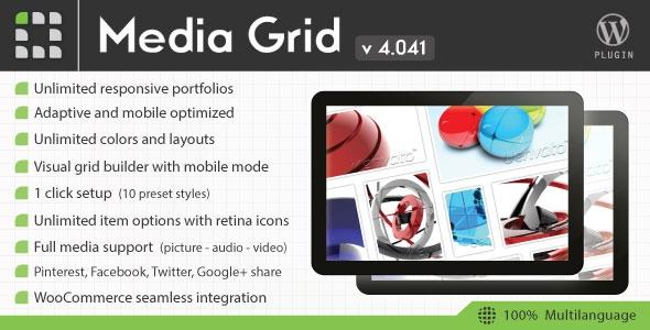 Media Grid v4.1 - Wordpress Responsive Portfolio