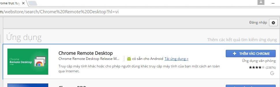 Cách điều khiển máy tính từ xa bằng Chrome