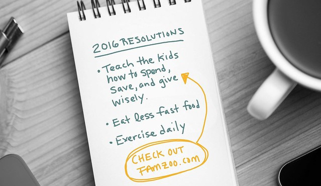 Family Finance Resolutions 2016