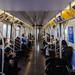 M Train interior, New York City Subway by InSapphoWeTrust