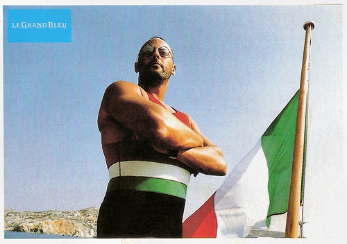 Jean Reno in Le Grand Bleu