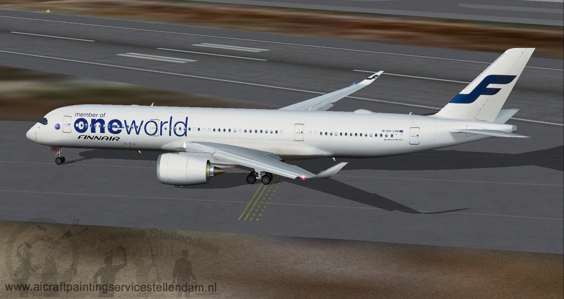 FSP_AirbusA350-941XWB_Finnair_OneWorld_OH-LWB_FSX