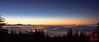 Sunrise over the Vancouver Fog