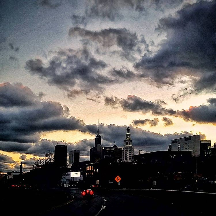 Buffalo drama #buffalo #buffaloatnight #sunset #skyline #BuffaloNewYork #ilovewny #iloveny #RiseBFLO #igersbuffalo #newyork #architecture #hashtagstepoutbuffalo #drama