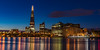 The Shard, London - Morning Blue Hour by L0nglost