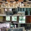 Buurtbibliotheek en Buurthuis Lange Munte Kortrijk in opbouw