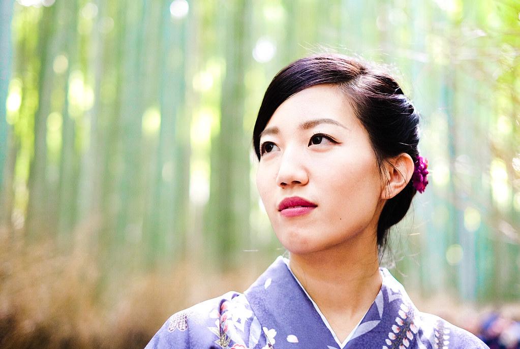 Saki (Stranger 121) Arashiyama, Kyoto, Japan
