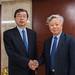 President Nakao meets president of AIIB