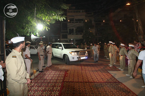 Arrival of Her Holiness in the Satsang Venue