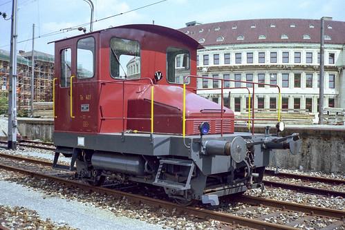 Winterthur | CH-ZH (Zürich) | 13.05.1979 | SBB-Tm I 401