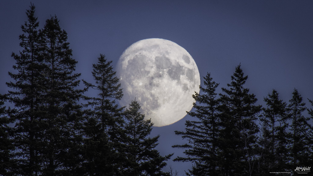 the day before the Supermoon
