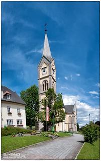 Kirche zu Ramsau am Dachstein - Panorama