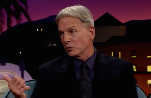 Mark Harmon on the Late Late Show