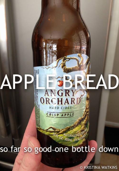 Cider Test - 1 Angry Orchard Apple