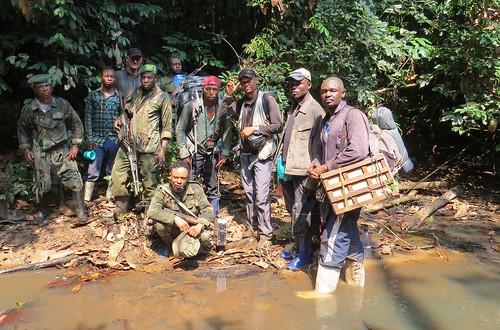 botanical team and marines