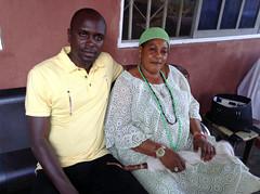 Prince Gbadegunte Aladejobi and The Regent of Erin Oke Adewumike Aladejobi