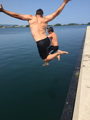 Collingwood Pier Jumping