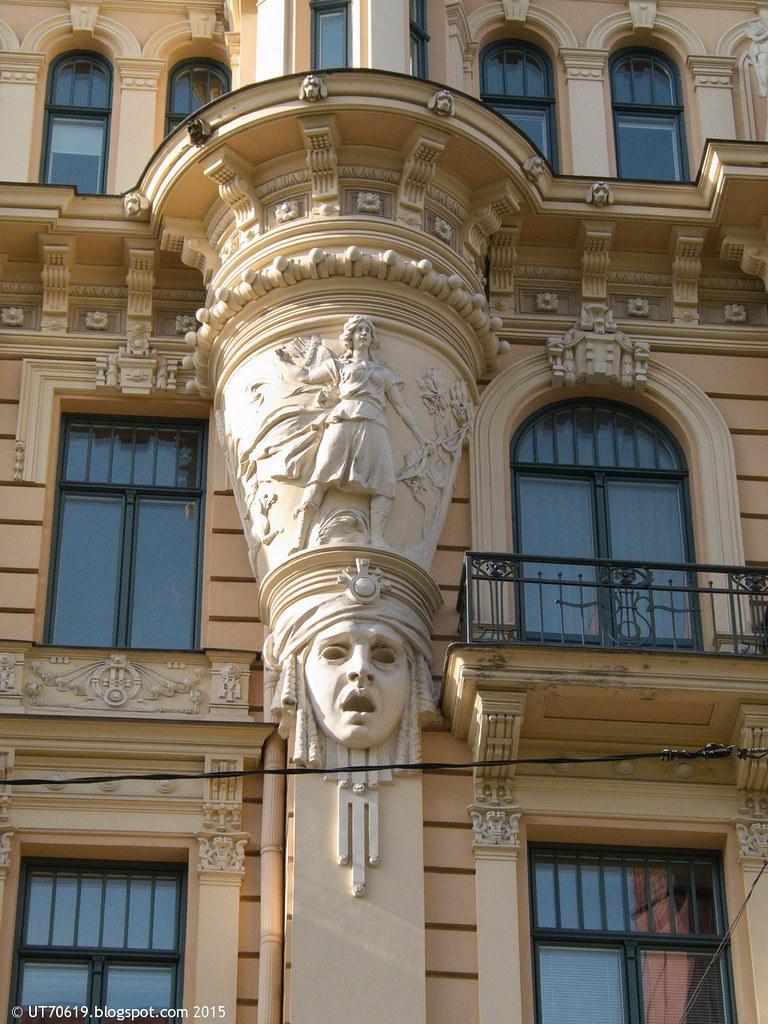 Jugendstilhaus Detail 4