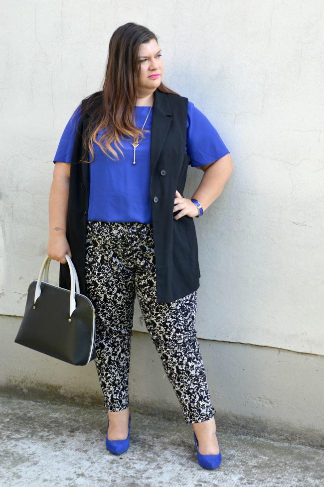 Outfit blu, nero e bianco (2)