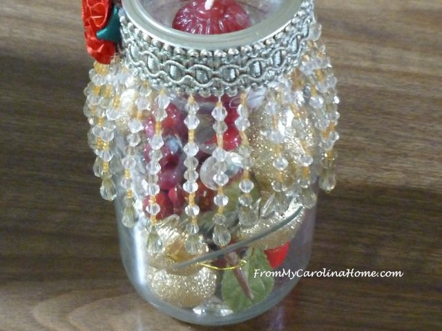 Mason Jar Holiday decoration