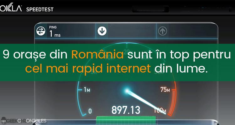 cel mai rapid internet