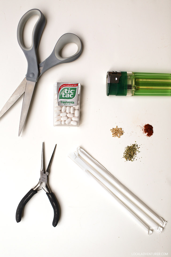 DIY Ultralight Travel Spice Kit / Camping Spice Kit.