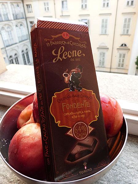 nectarines et chocolat 2