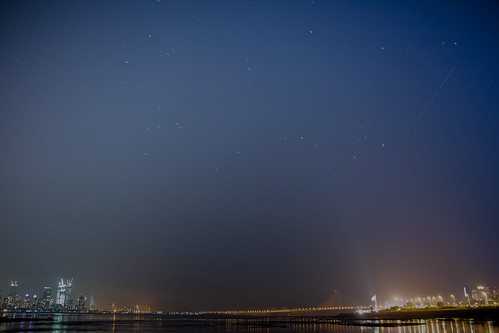 ISS over the Bandra-Worli Sealink