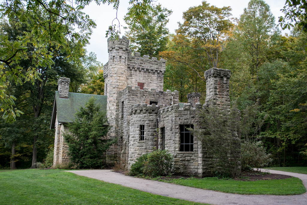 NW side - Squire's Castle - North Chagrin Reservation - Cleveland Metroparks 2015