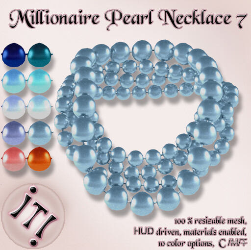 !IT! - Millionaire Pearls Necklace 7 CMP Image