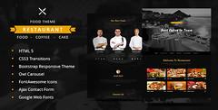 Restaurant | One Page Restaurant HTML5 Responsive…