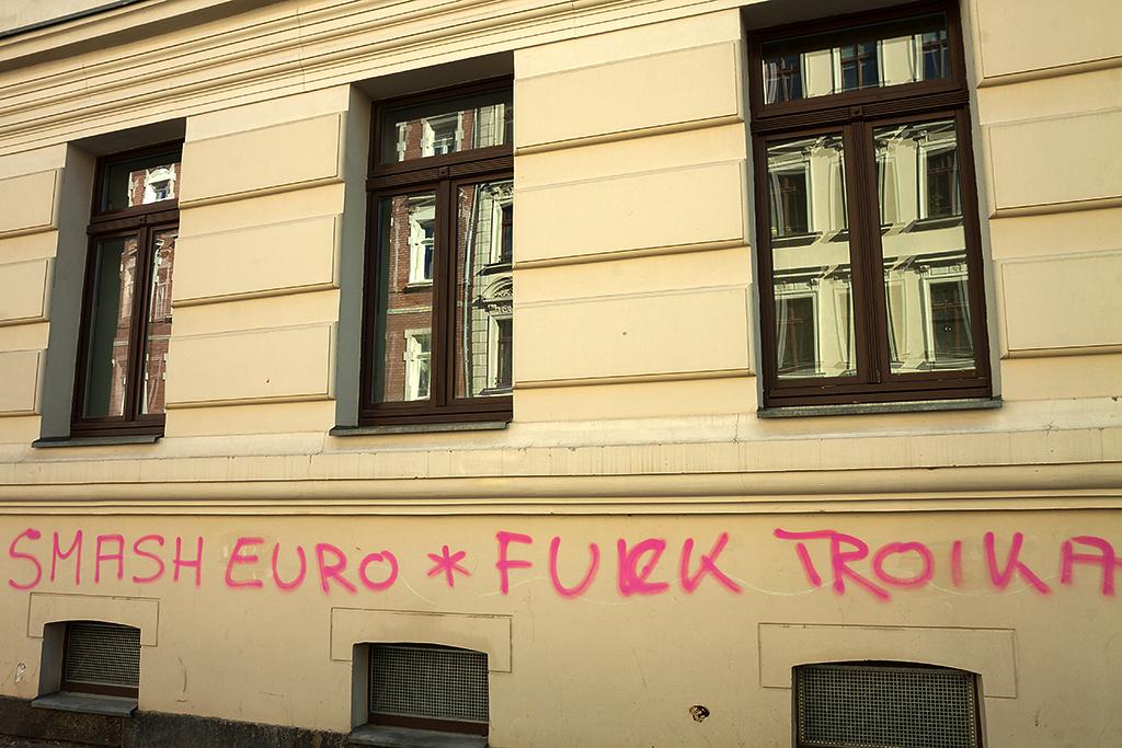 SMASH EURO FUCK TROIKA--Leipzig
